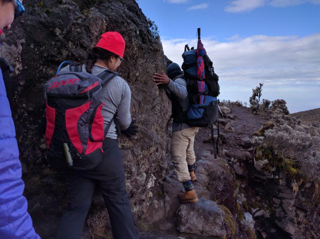 Climbing Mount Kilimanjaro Trip Report (Days 3-5) - Kissing Rock