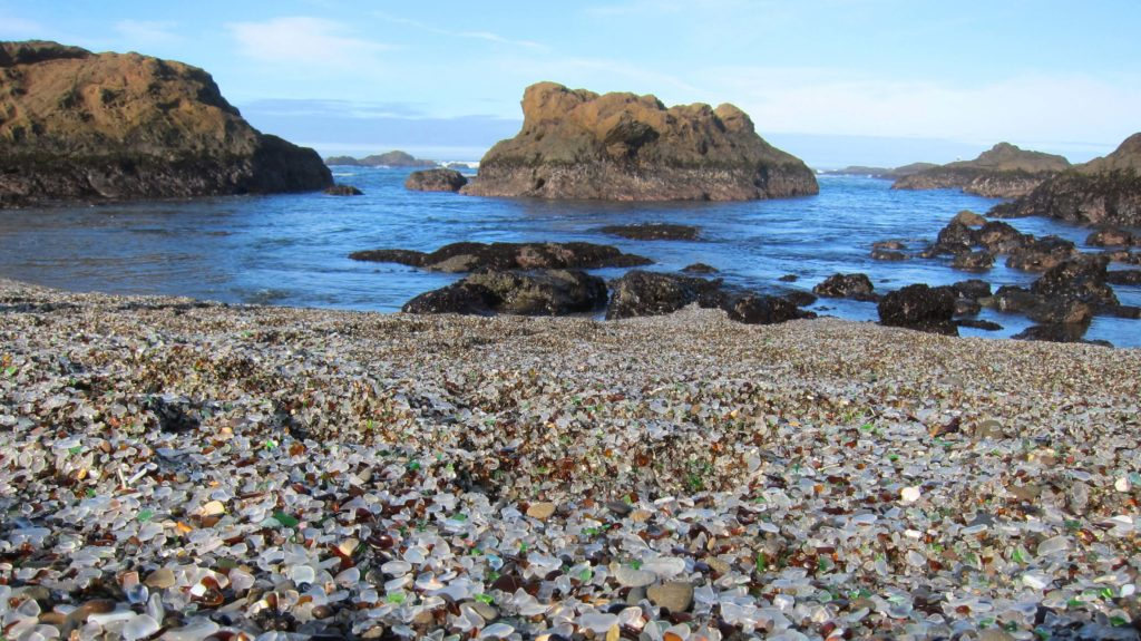 Things To Do For Weekend Along Mendocino Coast - Fort Bragg, California Glass Beach