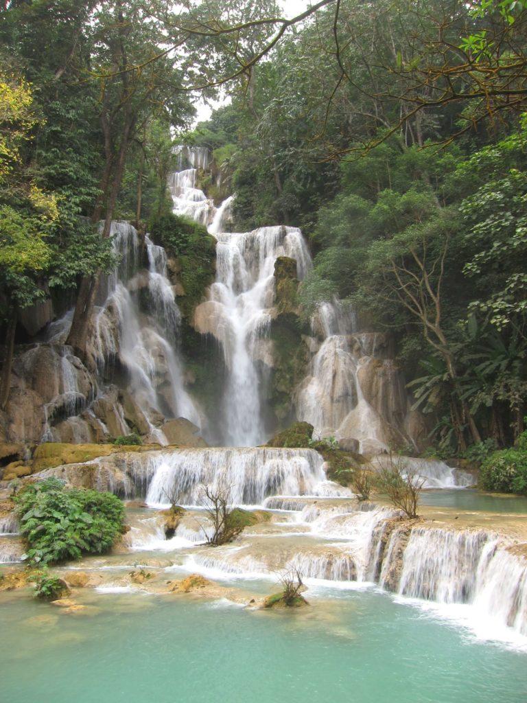 Top 8 Reasons To Visit Luang Prabang, Laos Now - Kuang Si Waterfalls
