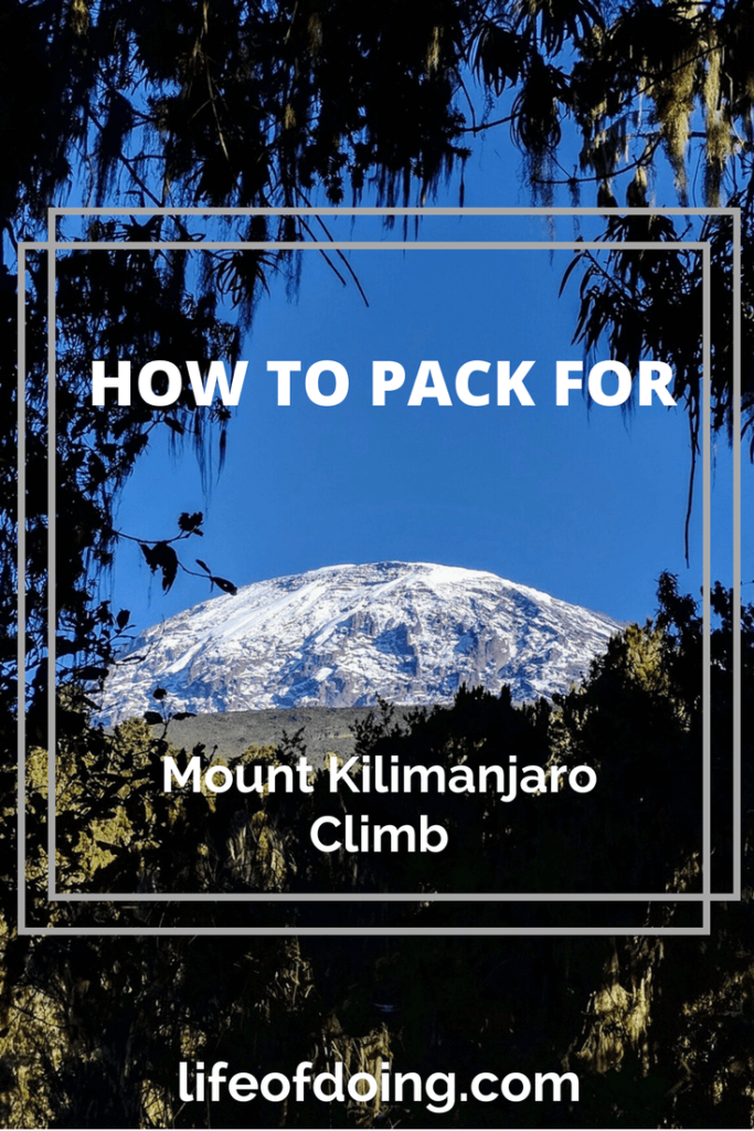 How to Pack for Mount Kilimanjaro Climb