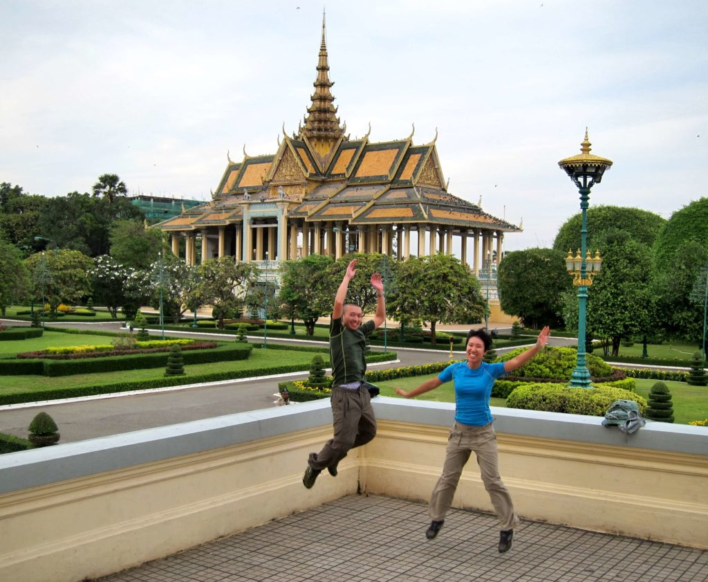 How to Travel to Cambodia and Laos in 2 Weeks - Phnom Penh Royal Palace and Silver Pagoda