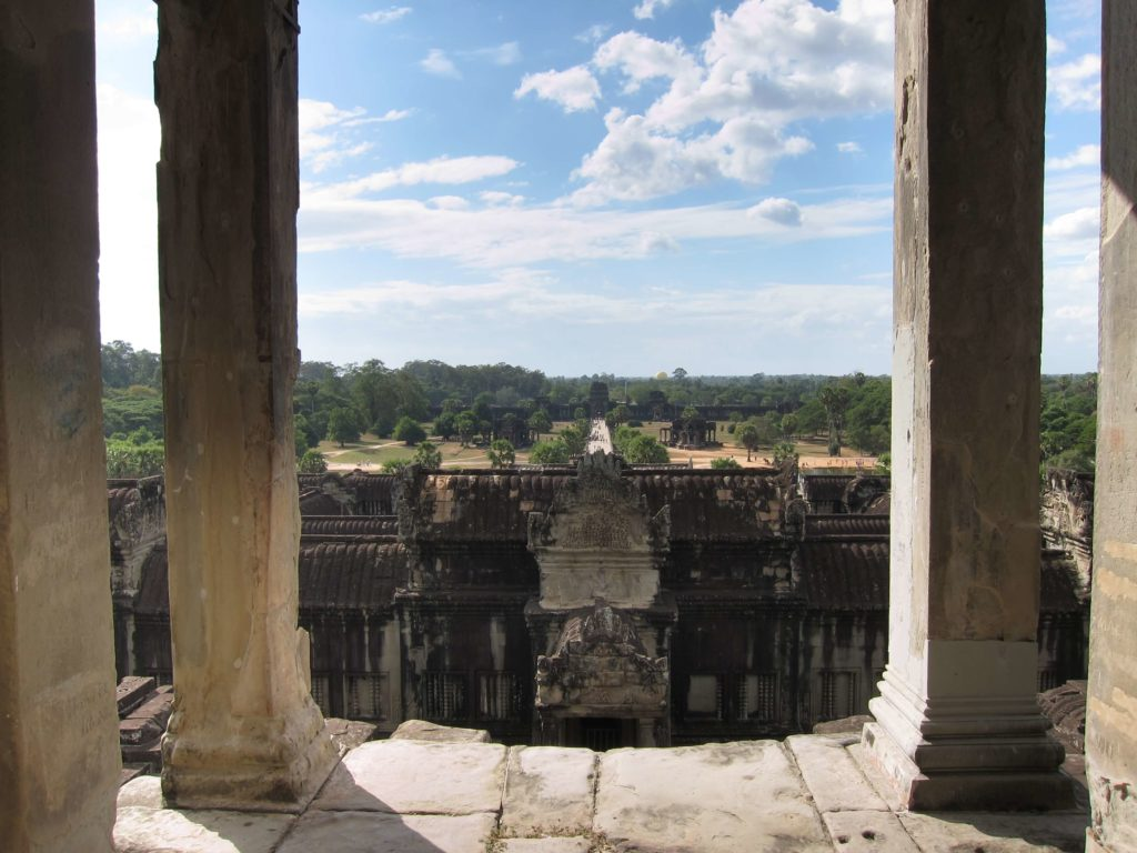 3 Days of Temples Galore in Siem Reap, Cambodia - Angkor Wat Bakan View To Entrance