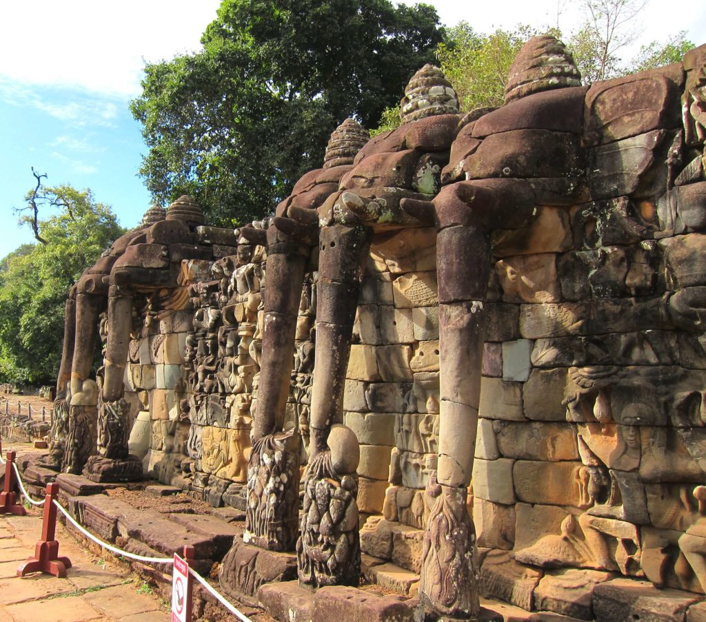 3 Days of Temples Galore in Siem Reap, Cambodia - Terrace of Elephants