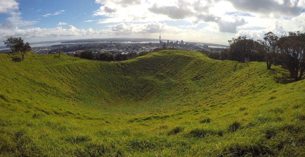 Spending One Beautiful Day in Auckland, New Zealand - Mount Eden