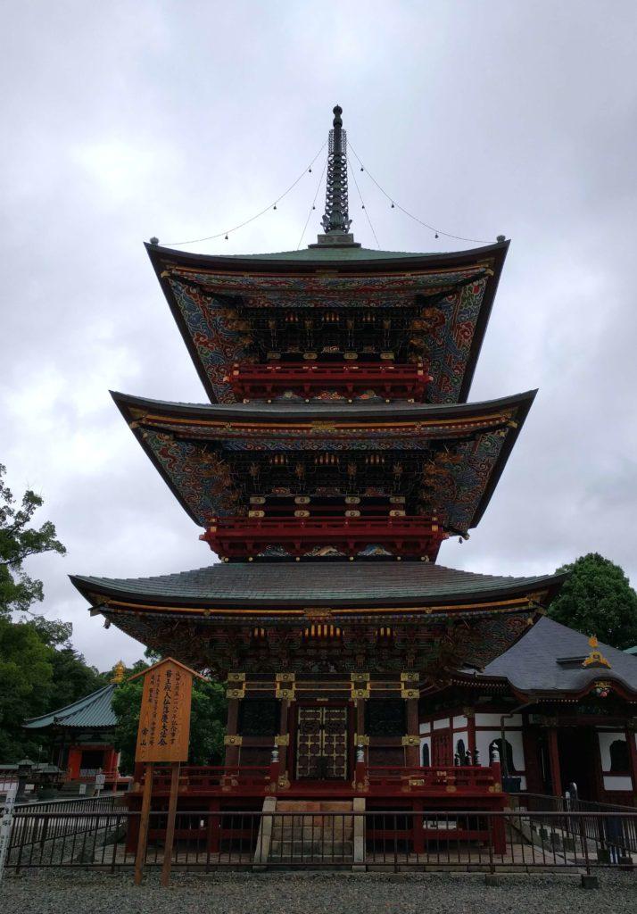 Visit Narita for a Layover in Japan - Naritasan Shinshoji Temple Three Storied Pagoda