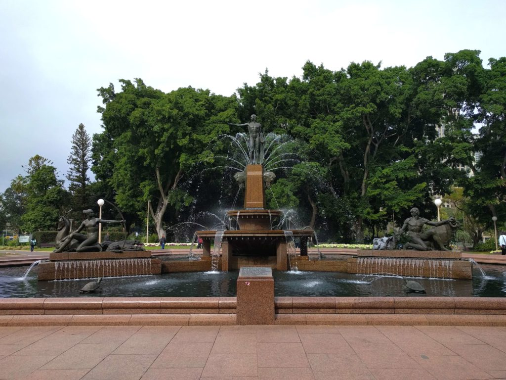 How To Explore Sydney During A 12 Hour Layover - Hyde Park Archibald Fountain