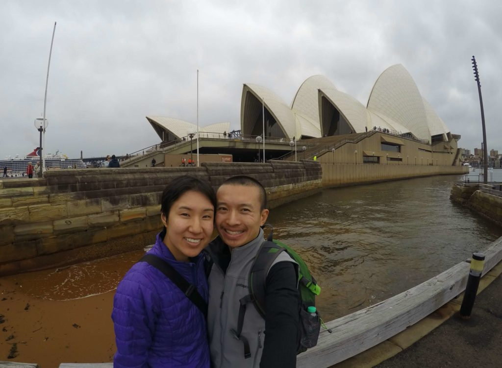 How To Explore Sydney During A 12 Hour Layover - Sydney Opera House Selfie
