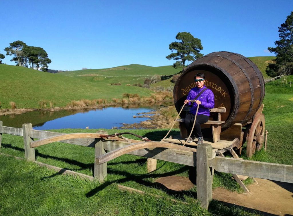 Visit to Hobbiton Movie Set in New Zealand