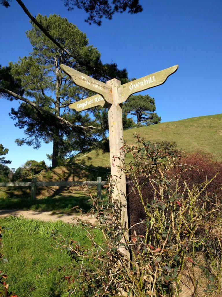 Visit to Hobbiton Movie Set in New Zealand