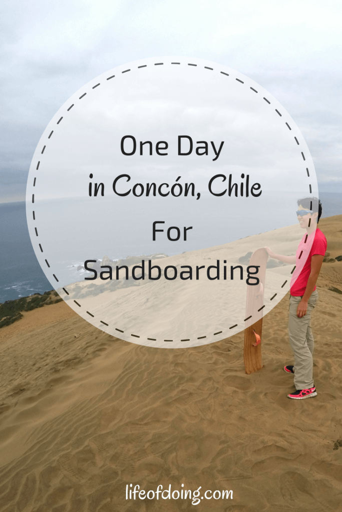 One Day in Concón for Sandboarding