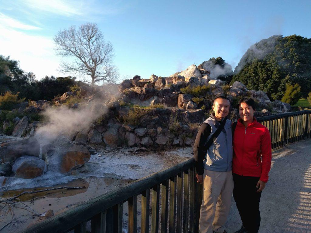 Two Days in Rotorua, New Zealand - Kuirau Park