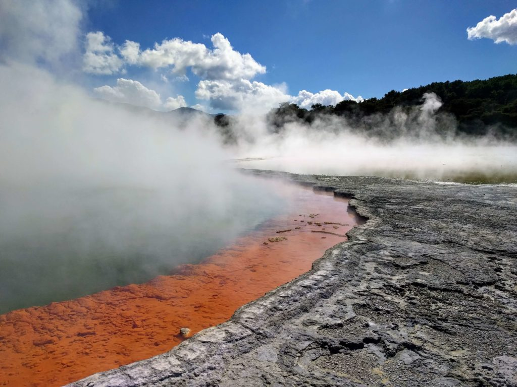 Two Days in Rotorua, New Zealand - Wai-O-Tapu Thermal Wonderland Champagne Pool