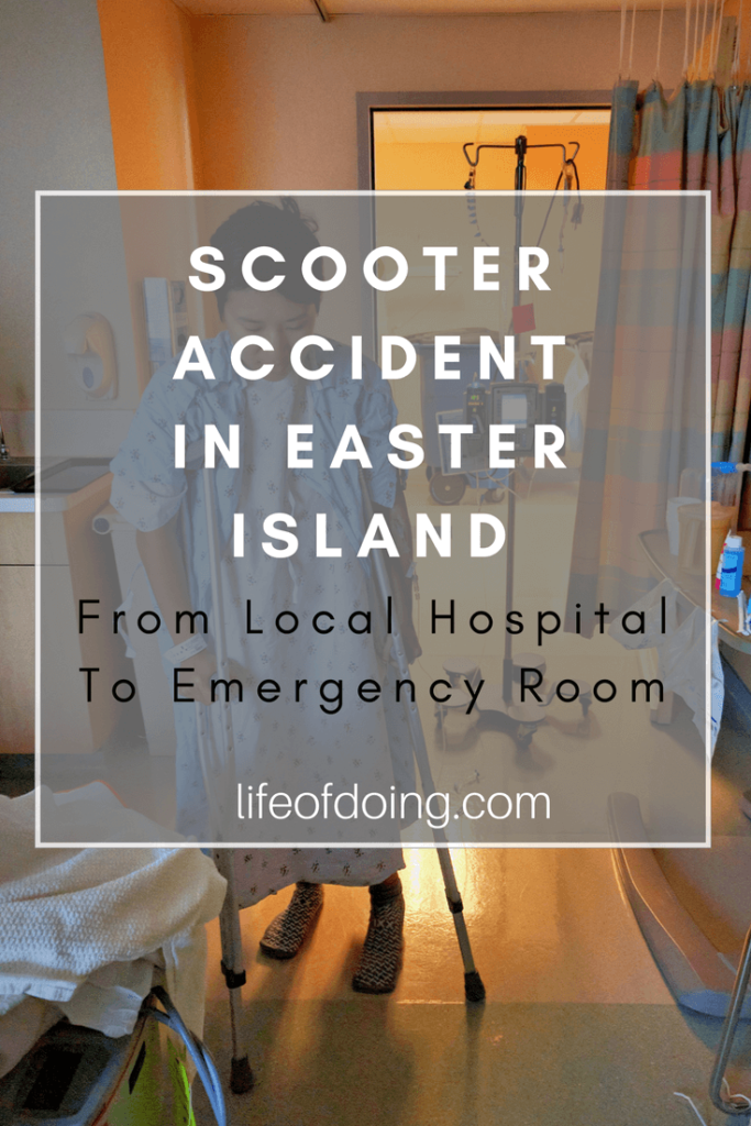 Scooter Accident: From Local Hospital to Emergency Room