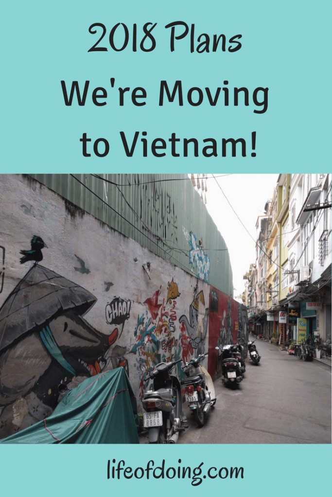 2018 Plans Moving to Vietnam
