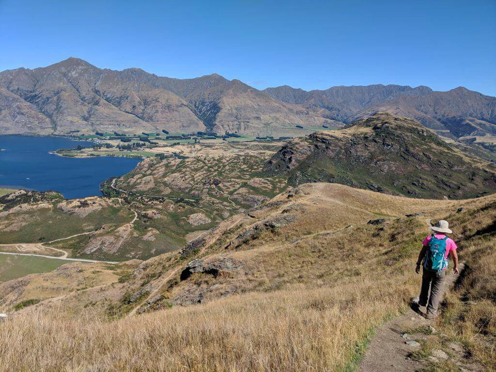 Hiking Rocky Mountain Summit Track in Wanaka, New Zealand