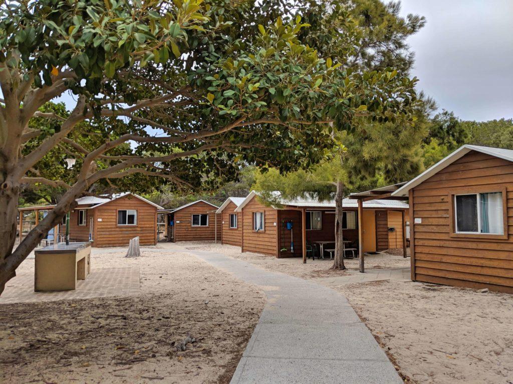 Visit Rottnest Island - Caroline Thomson Cabin Outside