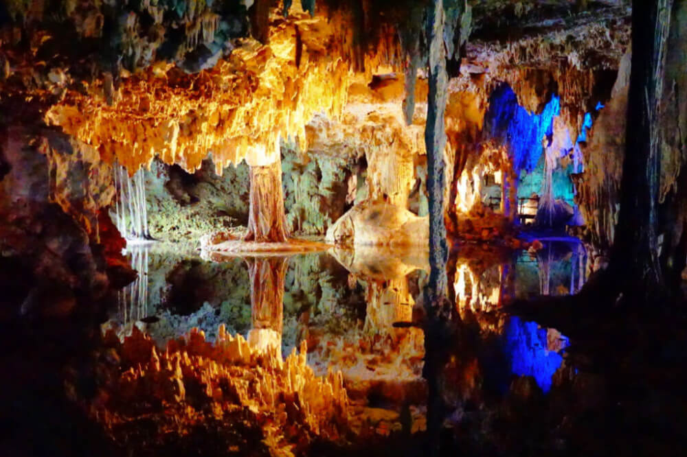 Caves Around The World in North America: Caracol Caves in Tulum, Mexico