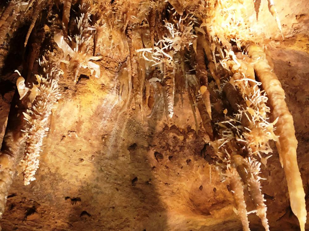 Caves Around The World in Europe: Les Grottes de Maxange Cave in Dordogne, France