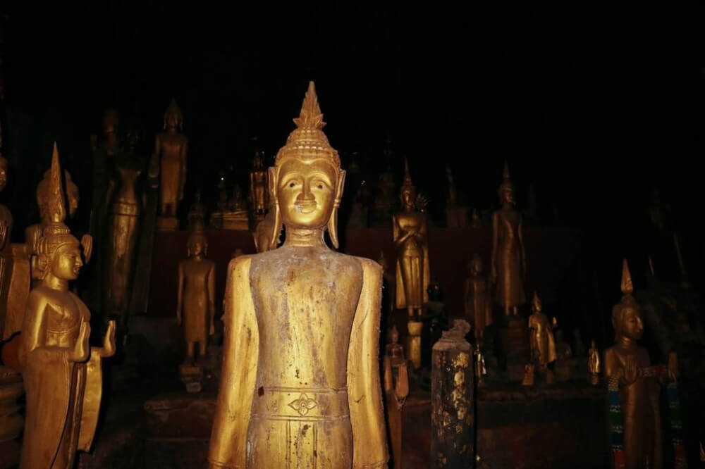 Caves Around The World in Asia: Pak Ou Caves in Luang Prabang, Laos