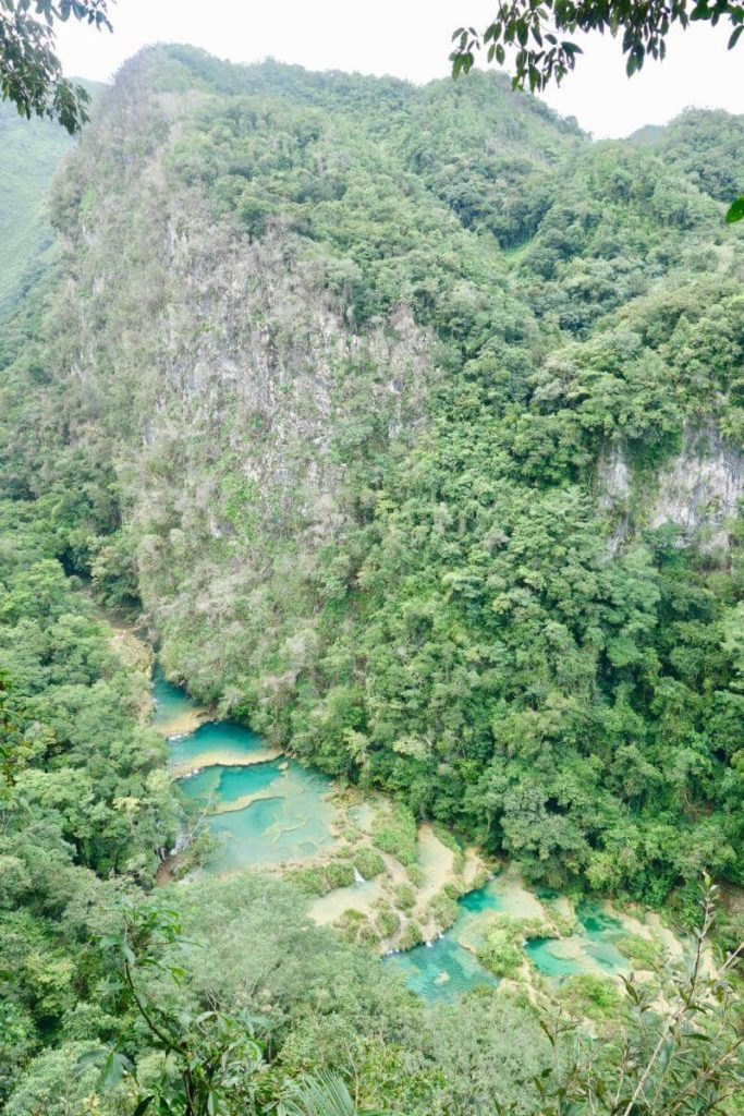 Caves Around The World in Central America: Semuc Champey in Lanquin, Guatemala