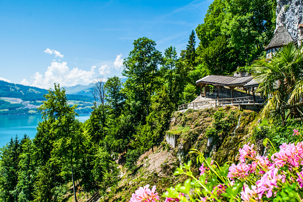 Caves Around The World in Europe: St. Beatus Caves in Interlaken, Switzerland