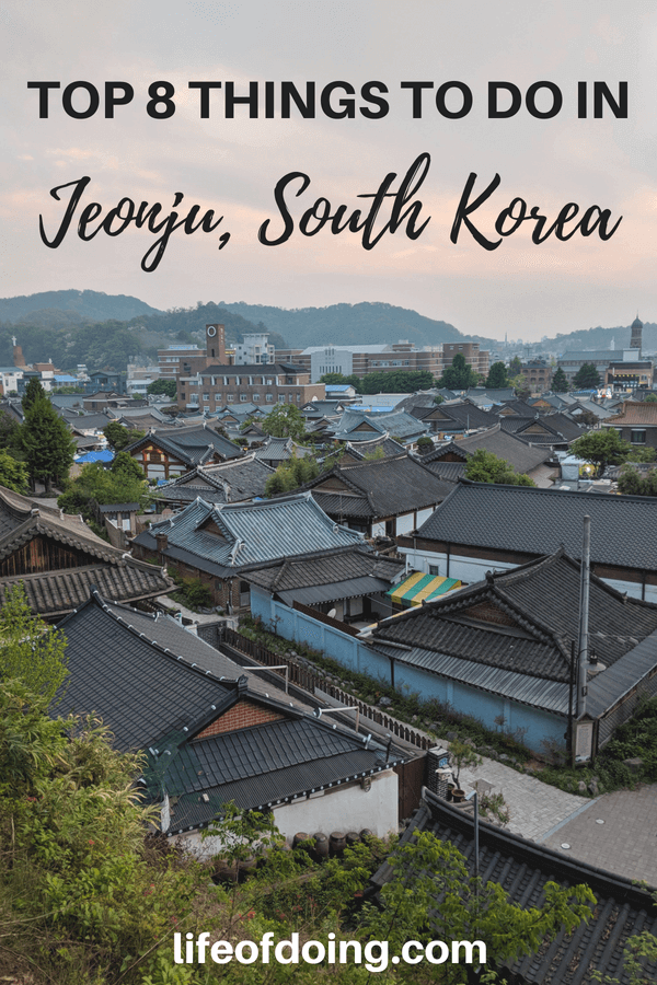 Top Things to do In Jeonju, South Korea