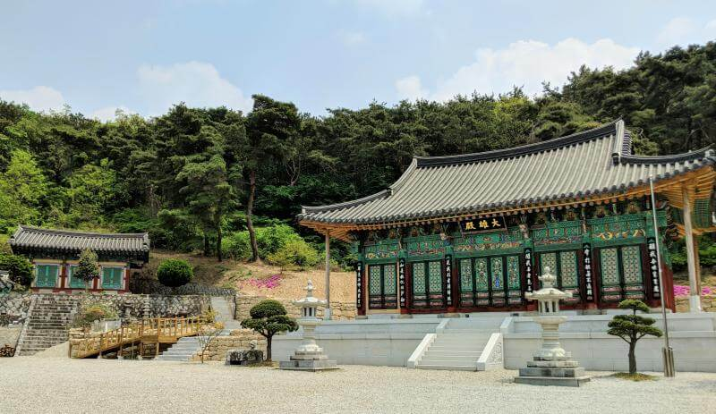 Namgosa Temple in Jeonju, South Korea