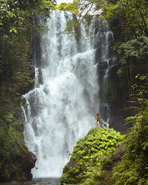 Cemara Waterfall in Bali, Indonesia
