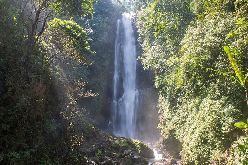 Melanting Waterfall in Bali, Indonesia