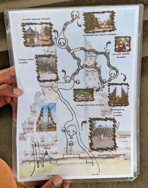 Pura Lempuyang Gateway to Heaven temple map