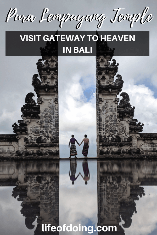 Explore Pura Lempuyang Temple and take a photo with the Gateway to Heaven in Bali, Indonesia