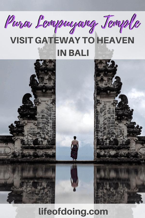 Add Pura Lempuyang's Gateway to Heaven on your Bali itinerary