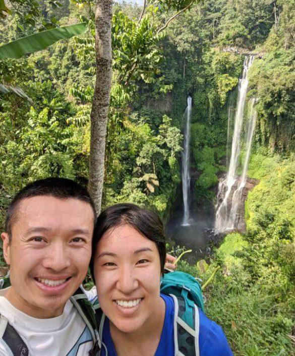 Sekumpul Waterfall View in Bali