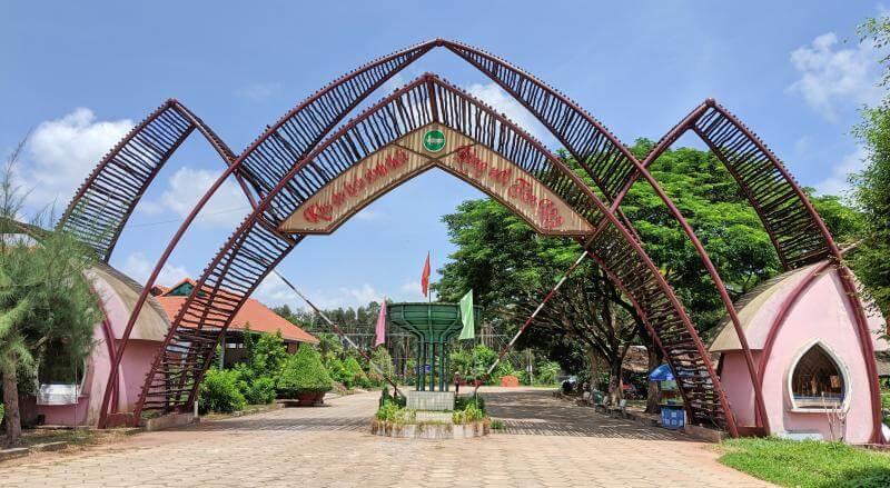 Tan Lap Floating Village, Long An, Vietnam Entrance