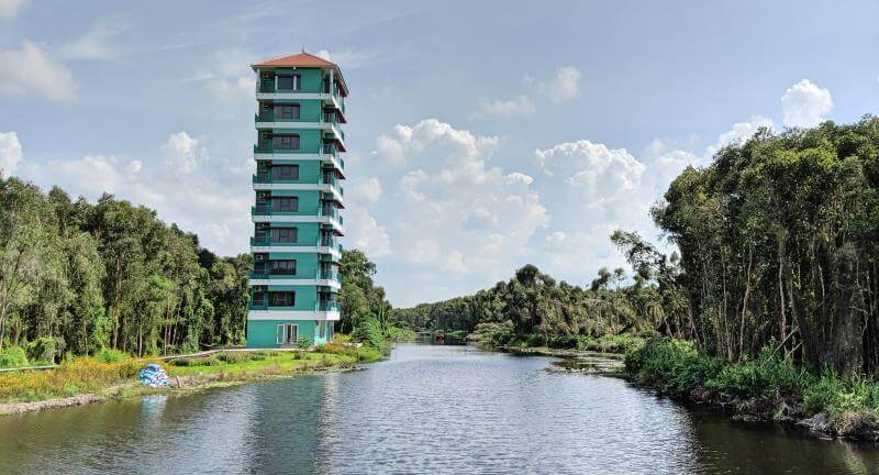 Tan Lap Floating Village Hotel, Long An, Vietnam