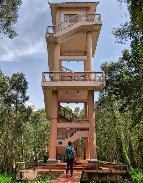 Tan Lap Floating Village Observatory Deck