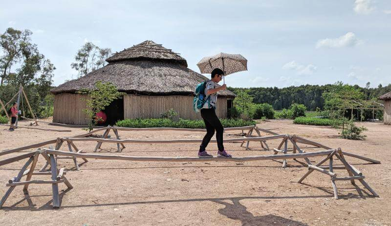 Tan Lap Floating Village, Long An, Vietnam Traditional Games