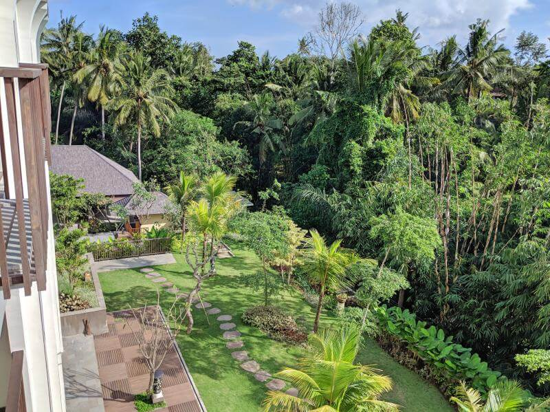 Element by Westin Ubud View from Balcony