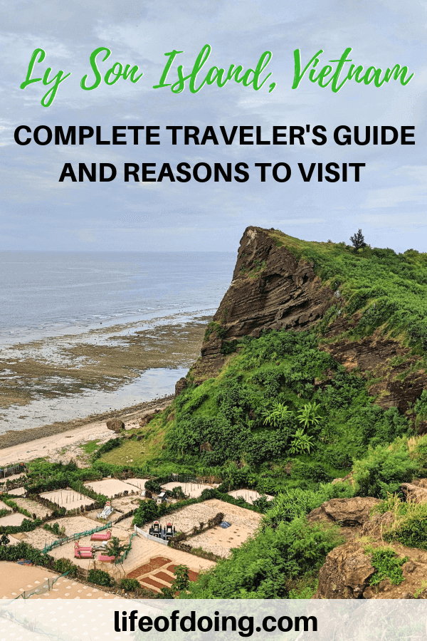 Ly Son Island, Vietnam is one of the hidden gems in Vietnam. Learn more about what to do here in this guide.