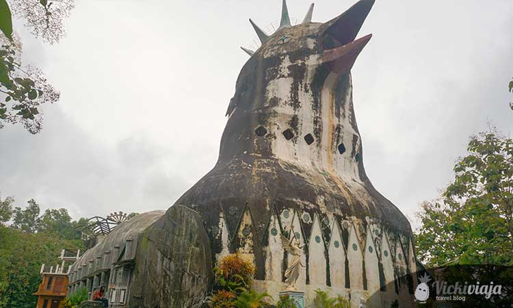 Adventures in Indonesia: Visit Chicken Church in Java
