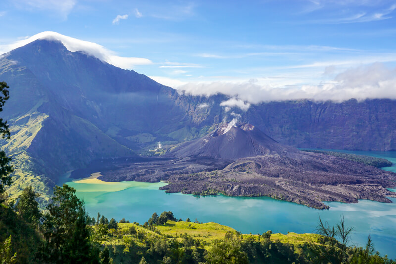 Adventures in Indonesia: Hike Rinjani Volcano