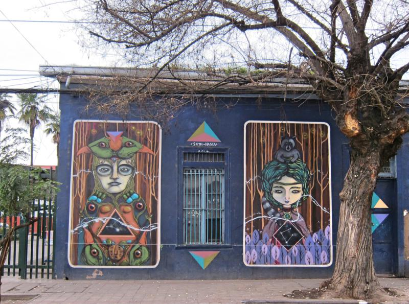 One day in Santiago, Chile: Explore street art in Bellavista