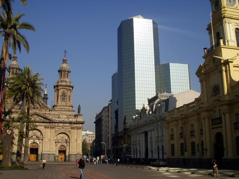One day in Santiago, Chile: Plaza de Armas