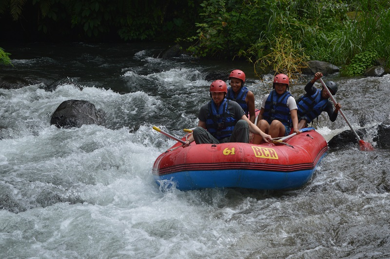 Adventures in Indonesia: Take a white water rafting adventure in Ubud, Bali, Indonesia