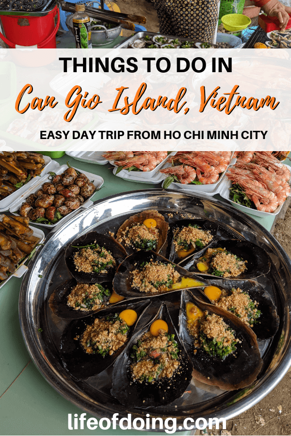 How to Visit Can Gio Island, Vietnam - see Monkey Island, mangroves, eat seafood, and more!