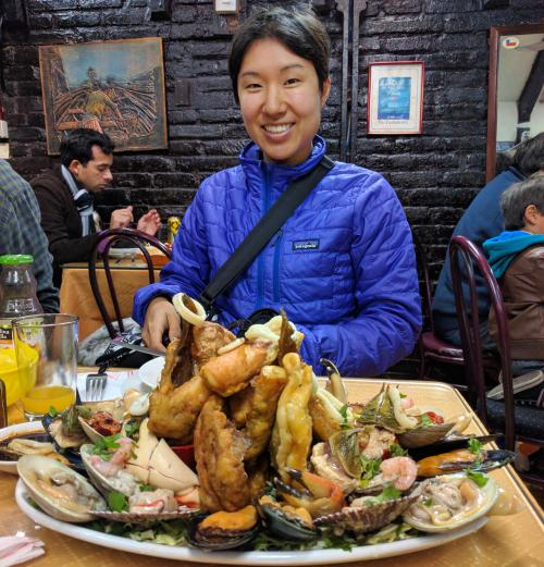 One day in Santiago, Chile: Visit Central Market and eat fresh seafood