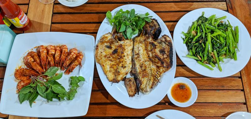 Mui Ne, Vietnam Things to do: Eat at Cho Hai San for the fresh seafood such as shrimp and snapper