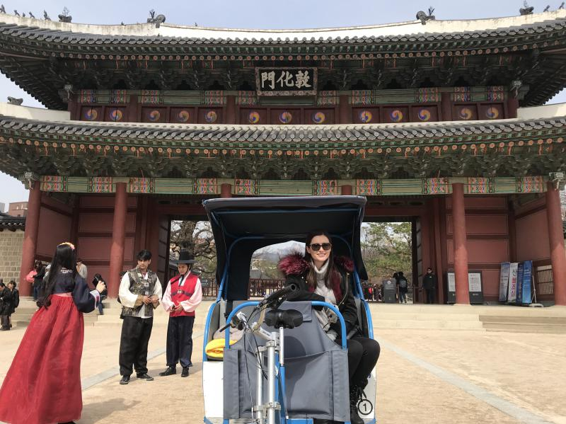 Seoul in 5 days: Artee Riders Club Pedicab Tour