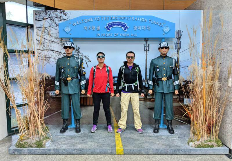 Seoul in 5 days: DMZ Tour at Third Tunnel