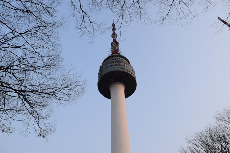 Seoul in 5 days: N Seoul Tower view from below